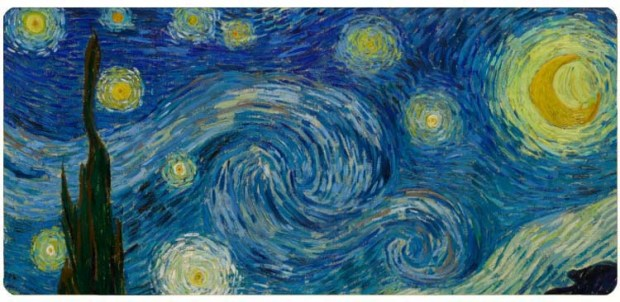Gogh, Vincent van (1853-1890): The Starry Night, 1889. New York, Museum of Modern Art (MoMA)*** Permission for usage must be provided in writing from Scala.