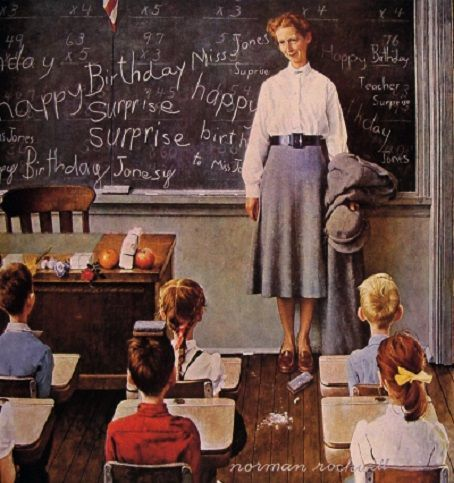 Norman Rockwell teacher1