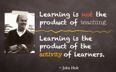 Holt - learning is activity